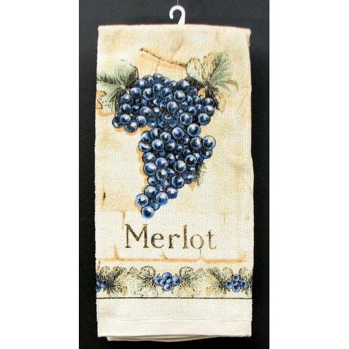 Merlot Grape Hand Towel