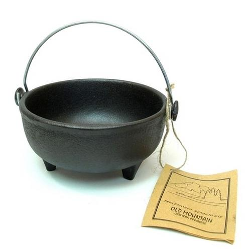 Old Mountain Cast Iron Preseasoned Kettle