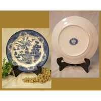 Blue Willow Dinner Plate 10""