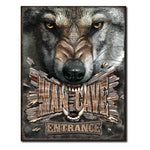 MAN CAVE - WOLF