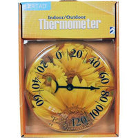 Dial Thermometer Sunflowers