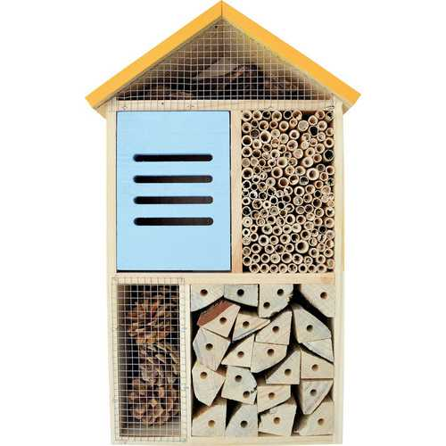 Five Chamber Deluxe Beneficial Insect House