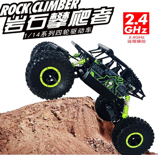 1/18th 2.4Ghz electric hot rc toy cars remote control model cars 4wd 4x4 rc rock crawler rtr