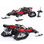 1/5 Rovan ROFAN Baja 5B Snowmobile Tracked Vehicle Snow Racing 30.5CC Gasoline Engine Symmetrical Steering 2WD RC Truck