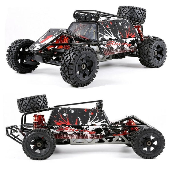 1/5 Rovan Rovan Baja 5B 360GT 36cc Gasoline Engine with Symmetrical Steering 2.4g Remote Control RC Truck