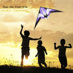 1.8M Big Professional Colorful Kite Double Line Stunt Kite Double Line Kite Frame Kite Outdoor Beach Park Family Fun Kids Adults