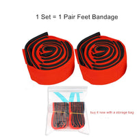1 Pair Feet Bandage Outdoor Games Sport Toys Team Working Company School Cooperation Parents and Children Party Games Sports Toy