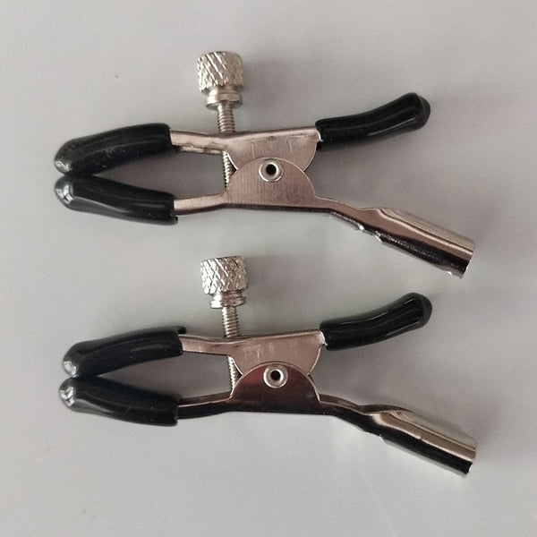 1 Pair Women breast nipple clamps clips adult fetish flirting teasing sex game nippel clamp couple pinzas pezones bdsm toys