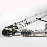 "1 Piece Camo Draw Weight 20-70lbs Compound Bow Type Adjustable Draw Length 17""-29"" for Archery Hunting Shooting"