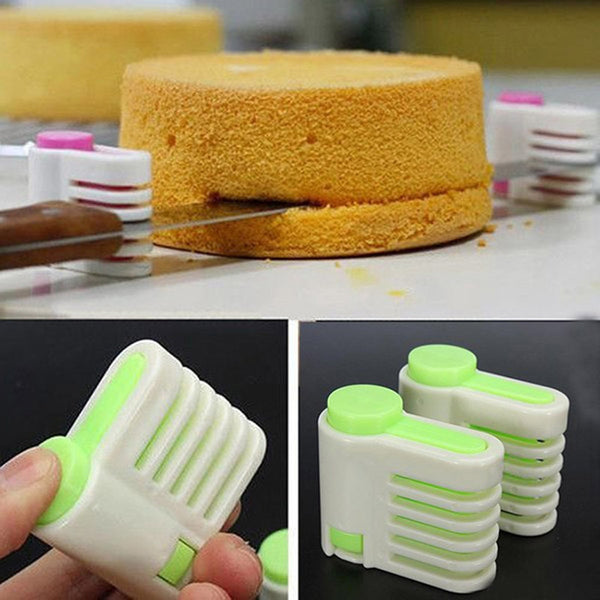 1 pcs 5 Layers Bread Slicer Kitchen Gadgets Cake Bread Cutter Baking Tools For Cakes Toast Slicer Bakware  1509