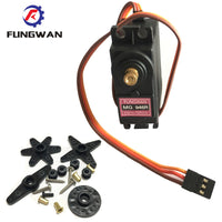 1 pieces  MG946R  upgrade RC Metal Gear Torque Servo For Boat CAR 13KG Torque Metal Servo MG946 Upgraded MG945 fast