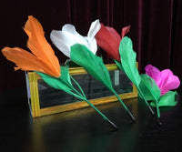 1 set New arrival flower from Crystal tube magic Tricks professional for magician stage magie 83101