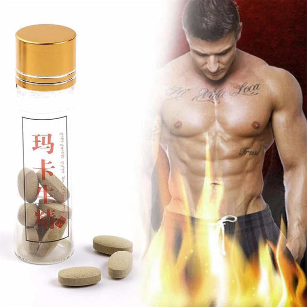 10*Pills Natural Herbal Enhancer Conditioning Sex Male Sexual Function For Men