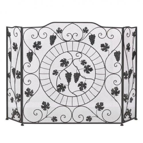 Vineyard Fireplace Screen (pack of 1 EA)