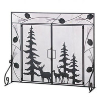 Woodland Forest Fire Place Screen (pack of 1 EA)