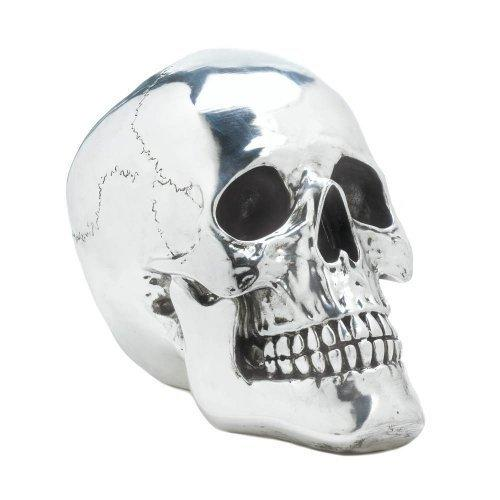 Smiling Silvery Skull (pack of 1 EA)