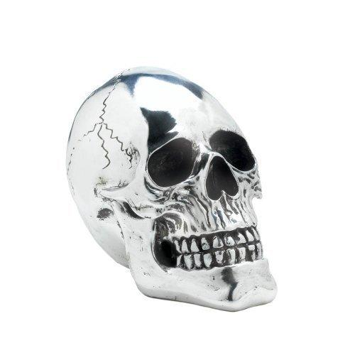 Shining Silver Skull (pack of 1 EA)