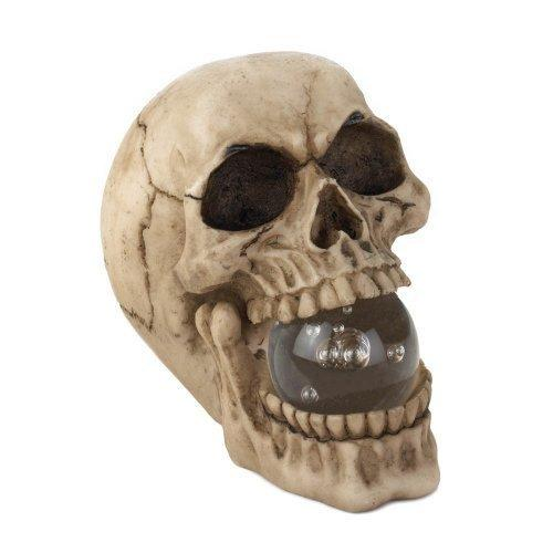 Skull With Led Light Up Ball (pack of 1 EA)