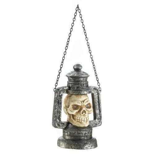 Skull Head Lantern With Led Light (pack of 1 EA)