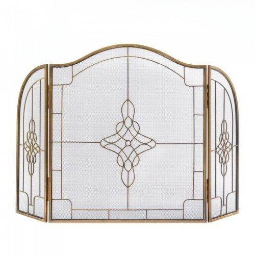 Art Deco Fireplace Screen (pack of 1 EA)
