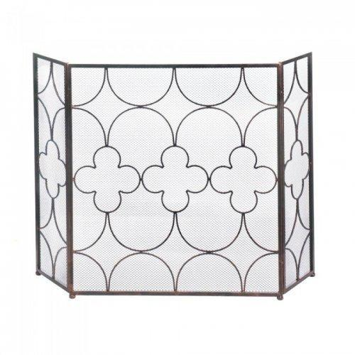 Clover Fireplace Screen (pack of 1 EA)