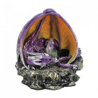 Purple Lounging Dragon With Light (pack of 1 EA)