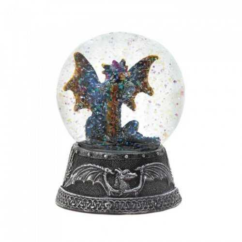 Blue Dragon Water Globe (pack of 1 EA)