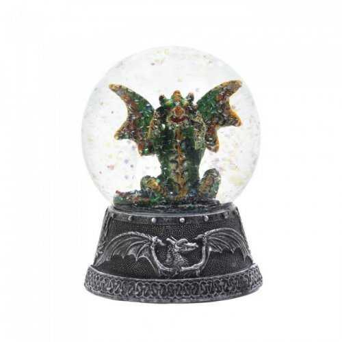 Green Dragon Water Globe (pack of 1 EA)