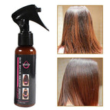 100ml Smoothing Spray To Repair Dying Ironing Damaged Hair Care Essential Oil Prevents Frizz And Makes Hair Silk Shine