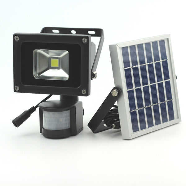 10W COB LED Solar Motion Light LED Flood Security Garden Light Pir Motion Sensor LED Solar Light Waterproof