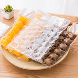 10pcs/pack Disposable Ice-making Bags Ice Cube Tray Mold Ice Mould Ice Tray Summer DIY Drinking Tool Kitchen Gadgets