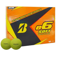 Bridgestone 2017 e6 Soft Golf Balls - Dozen Yellow