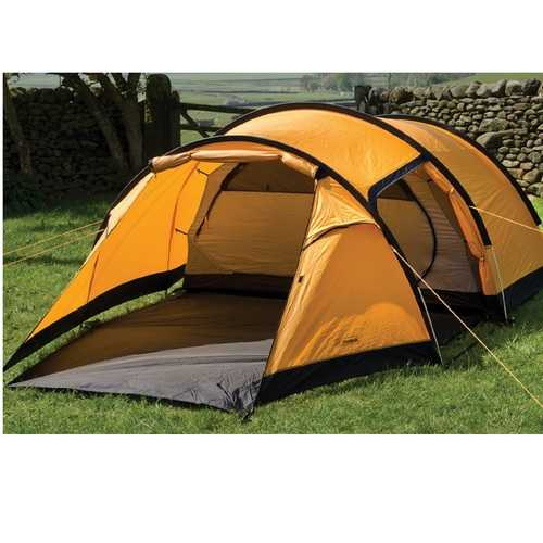 Snugpak Journey Quad Tent - Sunburst Orange