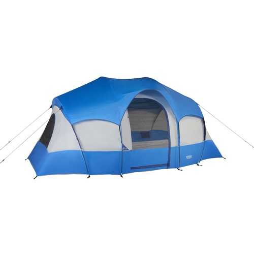 Wenzel Blue Ridge 7 Person Tent - Blue