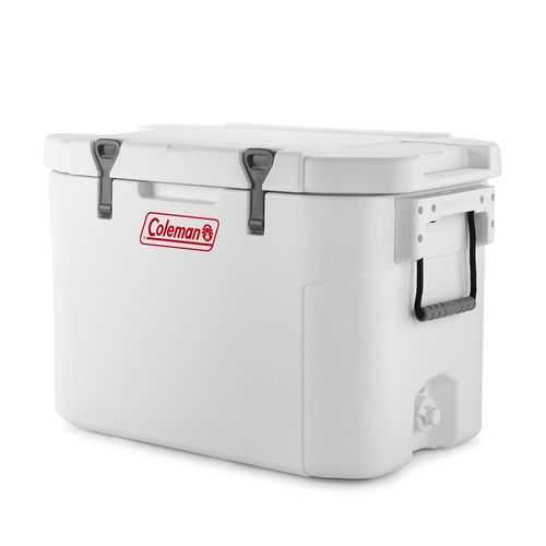 Coleman 85Qt Super Cooler White