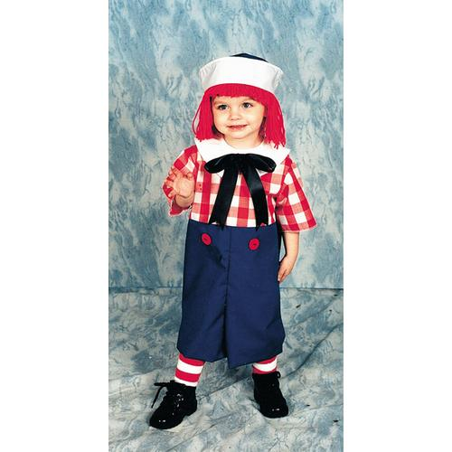 RAGGEDY ANDY TODDLER 2 TO 4