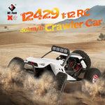 12429 1:12 RC Car Crawler 40km/h 4WD 2.4G Electric Car Head Lights RC Toys Off-Road Cars Gifts for Kids Adults