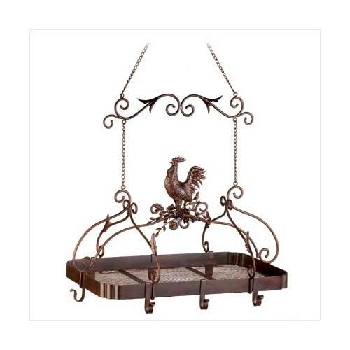 Country Rooster Kitchen Rack (pack of 1 EA)