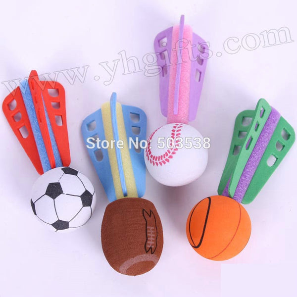 12PCS/LOT,Sports ball foam boomerang,Family fun,Interactive toys,Kids toys,Team games,Sports game,Outdoor games,10cm.Wholesale