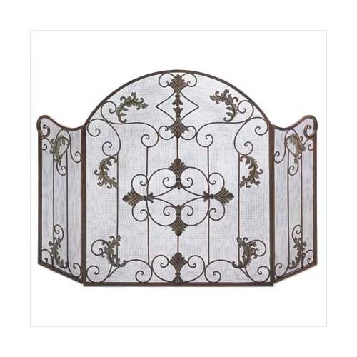 Florentine Fireplace Screen (pack of 1 EA)