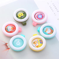 1PC Summer Mosquito Repellent Buckle Safe for Infants Baby Kids Buckle Indoor Outdoor Anti-mosquito Repellent