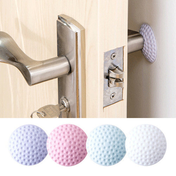1PC Wall Thickening Mute Door Stick Golf Styling Rubber Fender Handle Door Lock Protective Pad Protection Home Wall Stickers