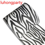 1Pack 30m/pack Zebra lines design Printed Paper Toilet Tissues Roll Toilet Paper Novelty Toilet Tissue Wholesale