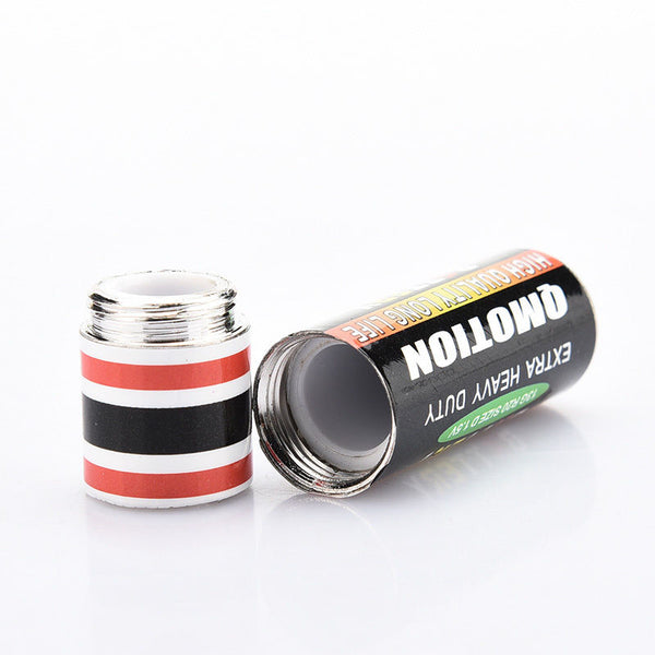 1pcs Secret Stash Diversion Safe AA Battery Pill Box Hidden Container Case Gift