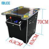 2 Sides to 2 Players Arcade Cocktail Table Game Machine for 60 in 1 Classical Games (22 Inch LCD Monitor)