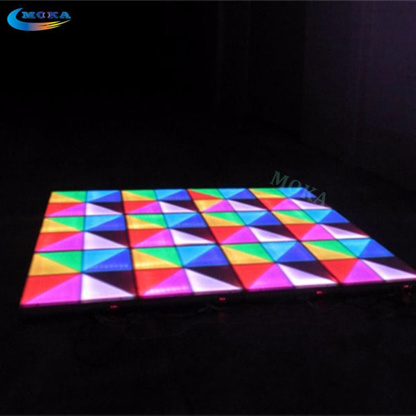20 Square meter LED dance floor led light floor DMX control  stage Light KTV Bar Party Disco DJ Club LED effect