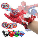 New Spiderman Avengers Batman and Hulk Glove Cosplay Gun Launchers Super heroes Toy Gun Heros