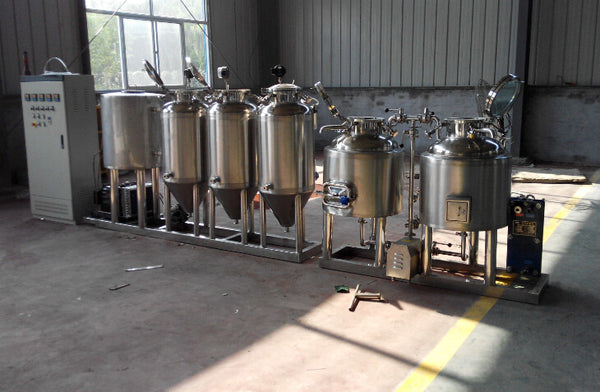 2016 Super Customized Stainless Steel Microbrewery Beer Brewery Equipment Brewing 100L