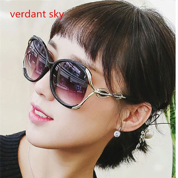 5277d461464 2019 latest Italy design large frame quality sunglasses women s brand  designer design UV400 Sunglasses women Original