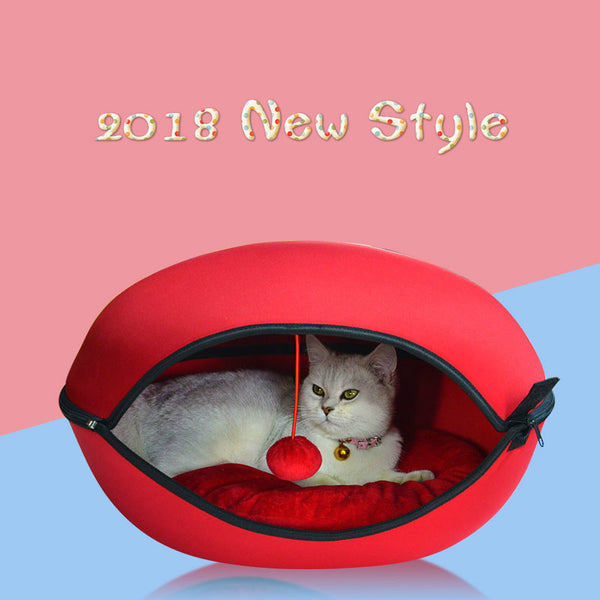 2018 Detachable Cat Cool Nest Small Breed Kitten House Bed Puppies Creative Kennel Pet Supplies Cats Products for Pets